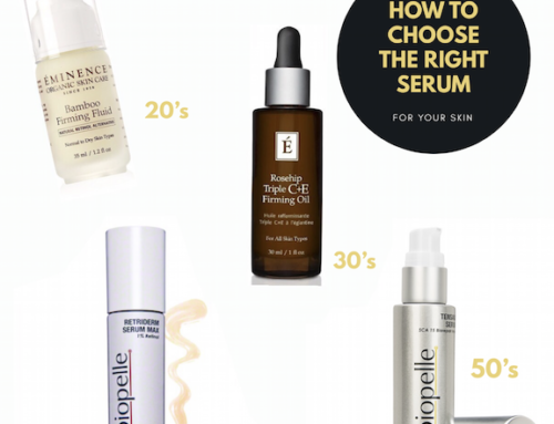 How To Choose The Right Serum For Your Skin