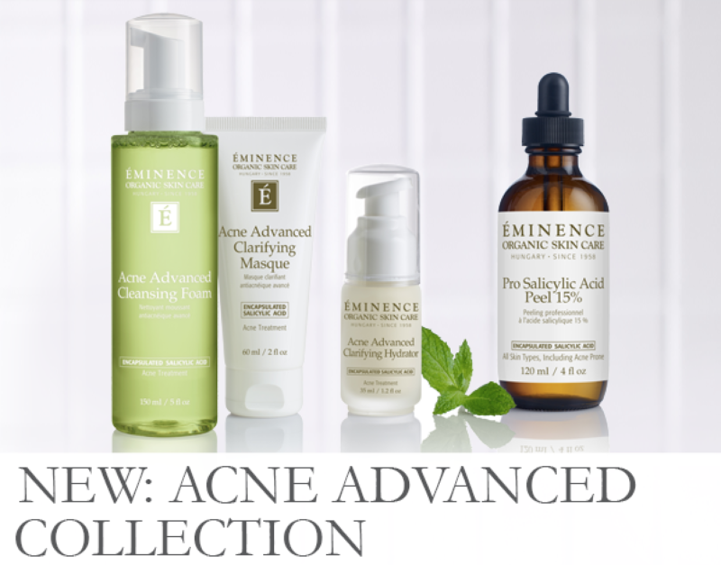 Image result for images of Eminence acne advanced